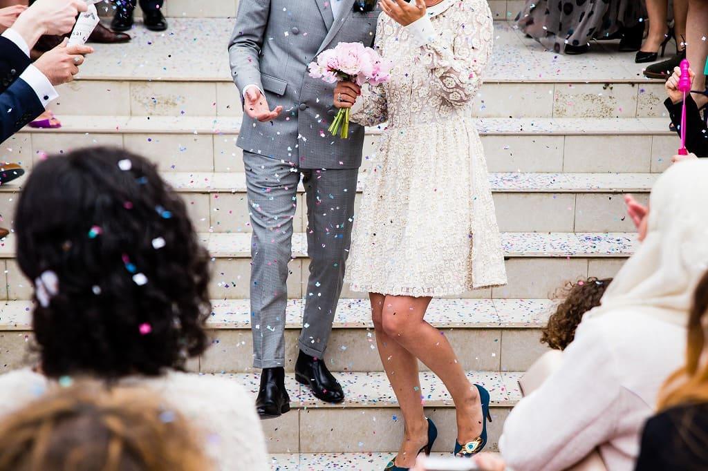 結婚式とバージンロード