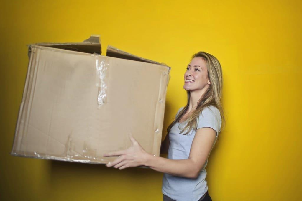 同棲で引っ越しの荷物を整理する